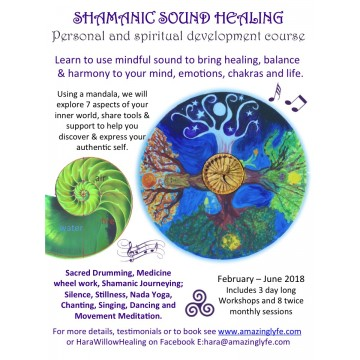 Shamanic Sound Healing taster day & 8 Week course