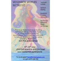 THE WOUNDED WOMAN 14th - 16th June (without Accommodation)